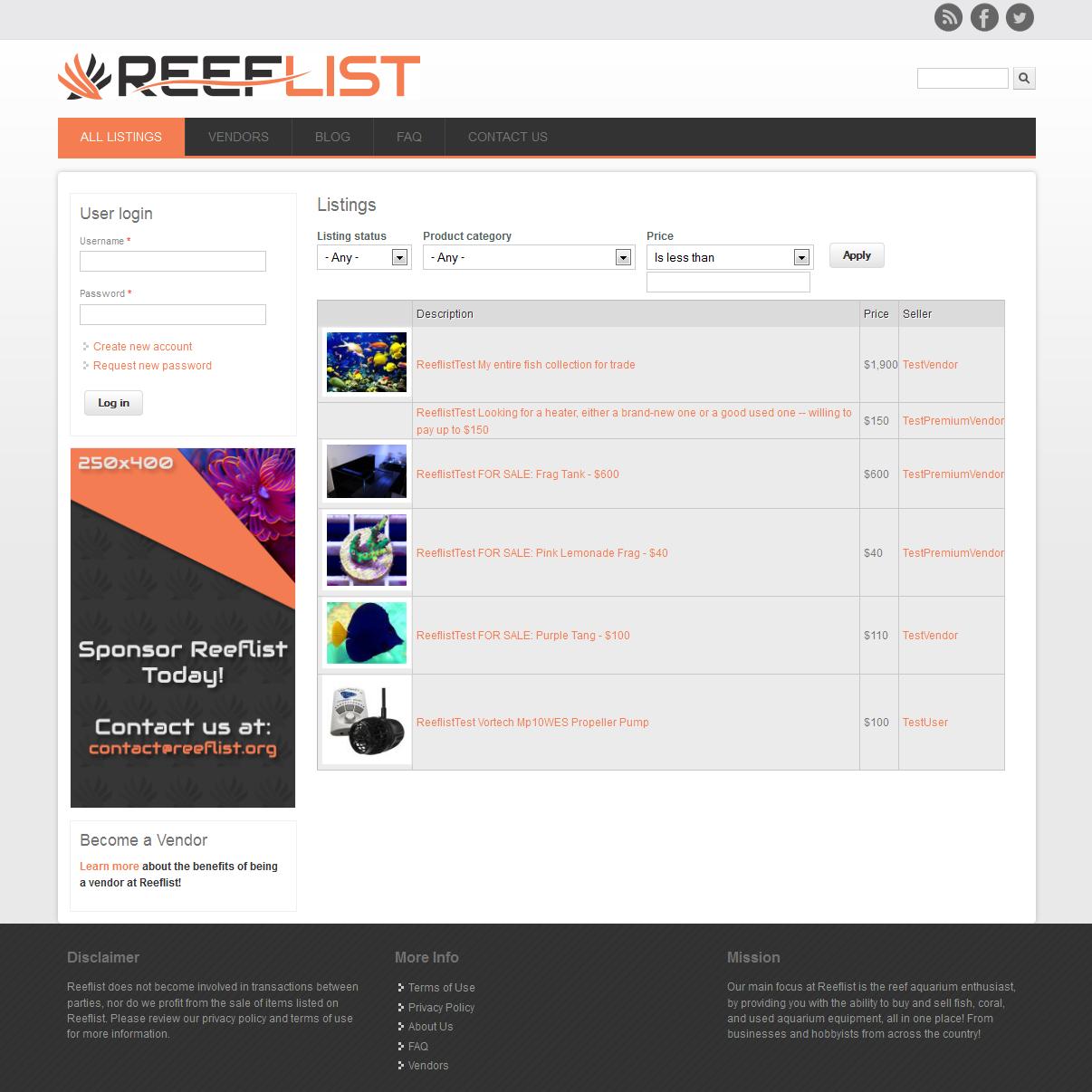 Reeflist [square]